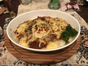 ルドロウ 焼きチーズカレー